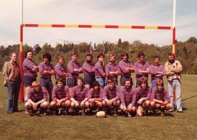 16. Finale de la Coupe Suisse à Vessy saison 1981-1982