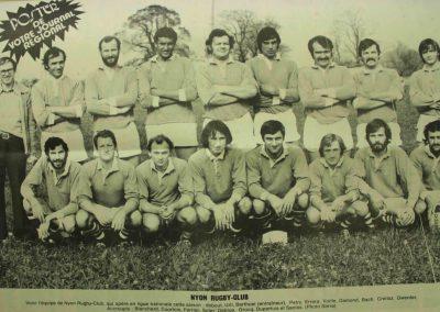 RC Nyon équipe 1 - 08.10.1976