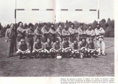 RC Nyon équipe 1 saison 1981-1982