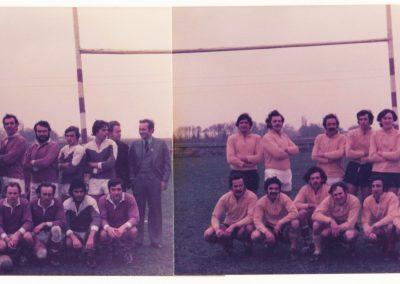 RC Nyon montage match équipes 1 Vs 2 - photo No 4 Décembre 1975