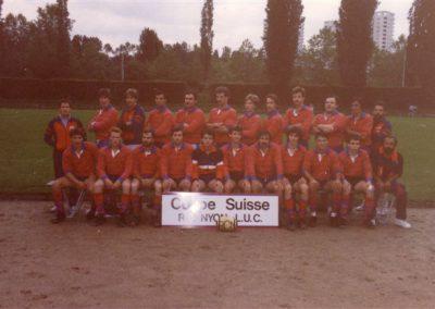 Nyon Swiss Cup Winners 85