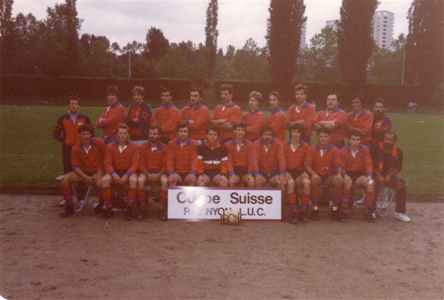 Nyon Swiss Cup Winners 85